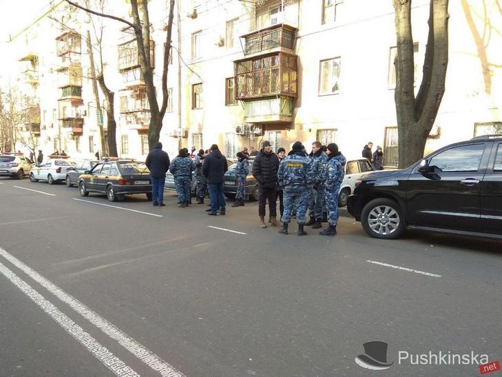 ВОдессе наМаразлиевской произошла стрельба