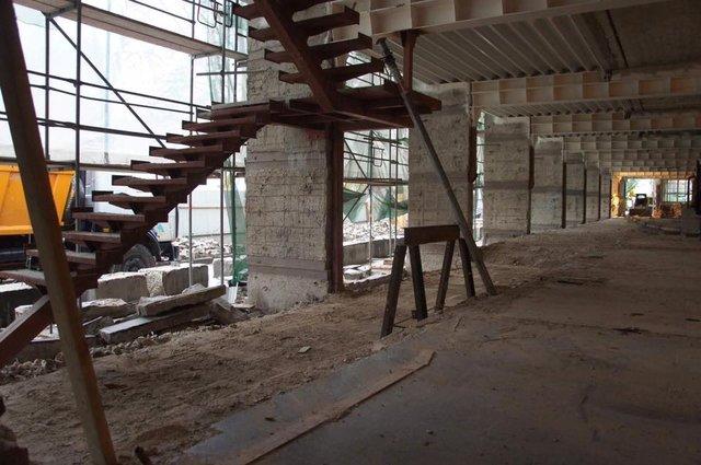 Фасад відновленого після Майдану Будинку профспілок відкриють уквітні