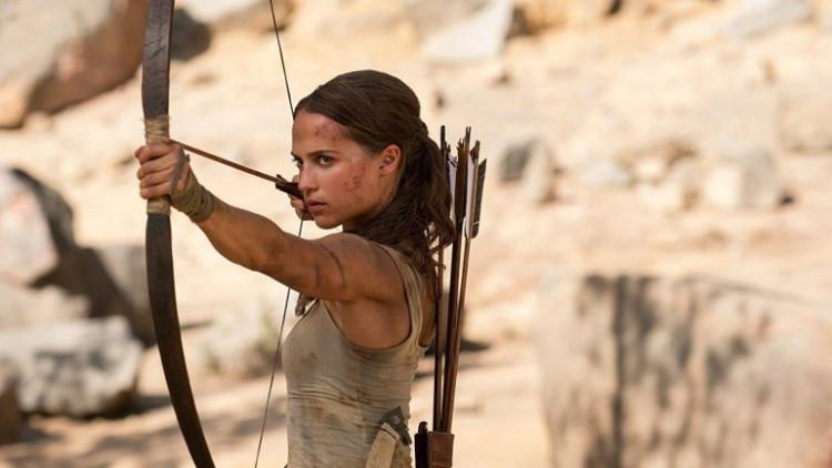 Как Анджелина Джоли отреагировала навыход новейшей «Лары Крофт»