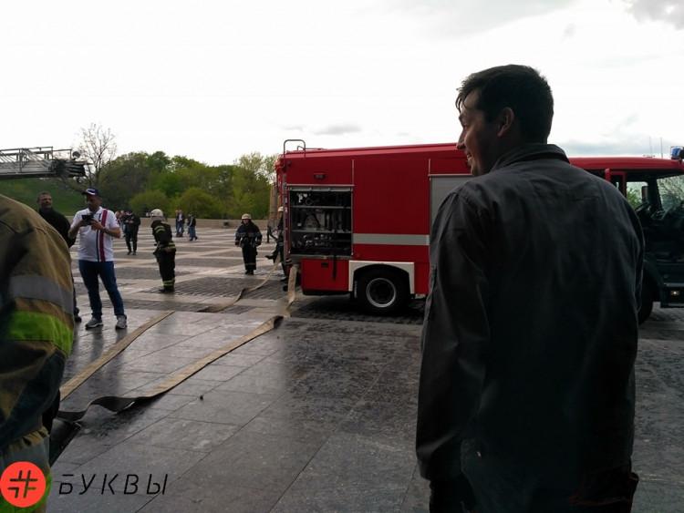 ВКиеве произошел пожар вмузее под монументом «Родина-мать»