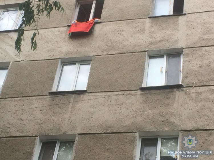 ВОдессе остановили БМВ сфлагом ссоветской символикой: милиция начала расследование